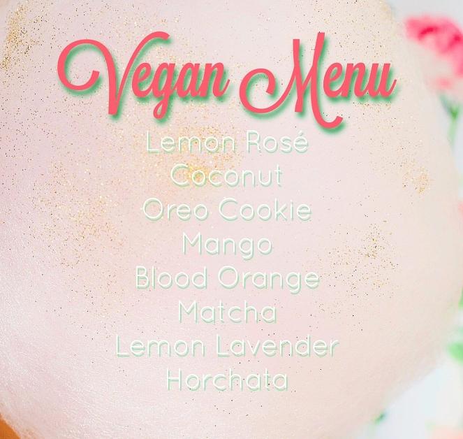 vegan cotton candy